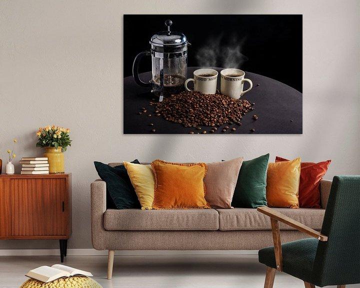 Sfeerimpressie: Dampende koffie van Ton de Koning