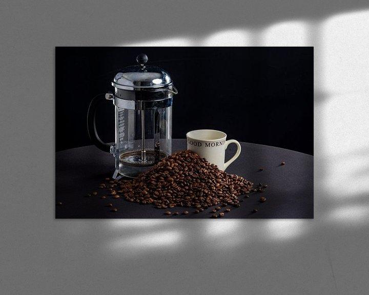 Sfeerimpressie: Goede morgen met koffie van Ton de Koning