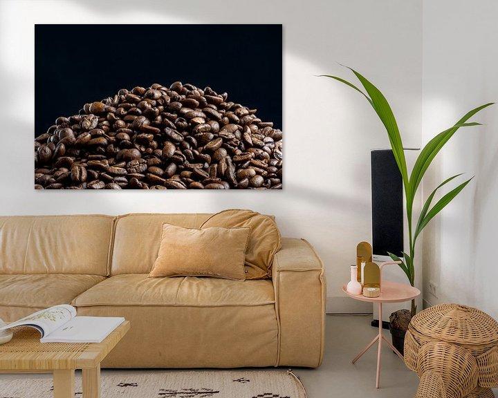 Sfeerimpressie: Een berg koffie van Ton de Koning