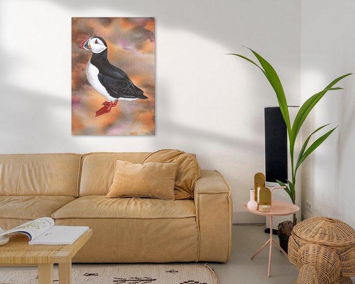 Beispiel: Papageientaucher von Jasper de Ruiter