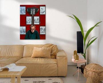Woody Allen für die Yrrah Malerei von Paul Meijering