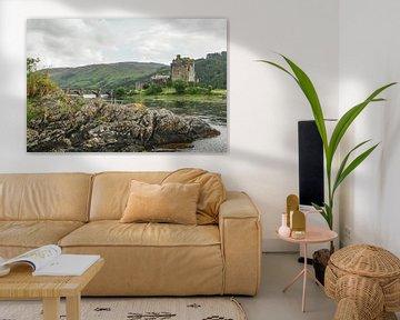 Eilean Donan Castle Schottland von Dirk van Egmond