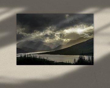 Loch Loyne Schotland van Dirk van Egmond