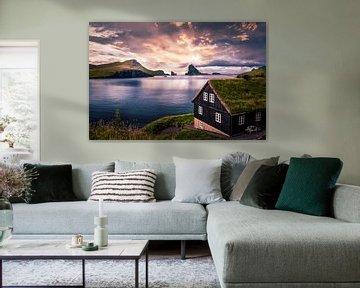 Bøur, Faeröer van Dennis Wardenburg
