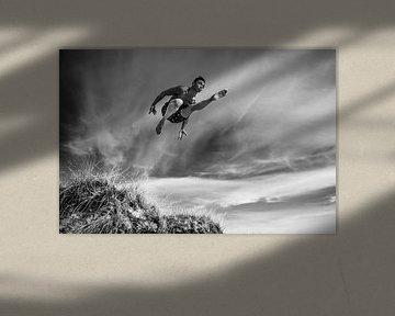 Dancer in the Air van Mark Eckhardt
