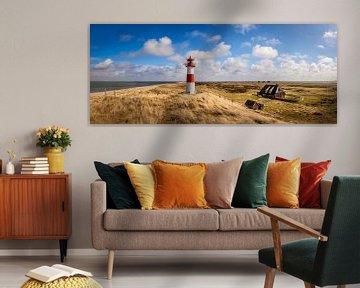 Panorama Leuchtturm List-Ost auf Sylt von Christian Müringer