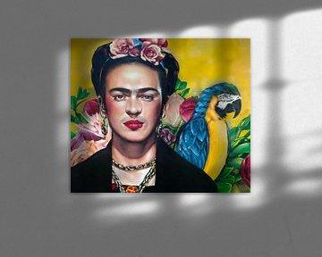 Frida schilderij van Jos Hoppenbrouwers