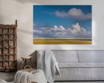 Weiter Himmel über dem Listland auf Sylt von Christian Müringer