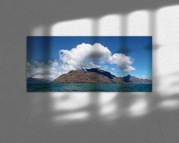 Lake Wakatipu , Queenstown, Nieuw-Zeeland van Markus Lange