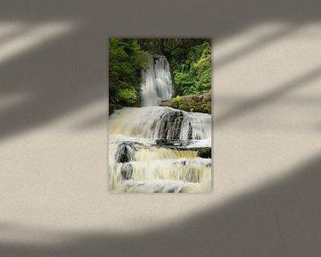 McLean Falls, The Catlins, Otago, Nieuw-Zeeland... van Markus Lange