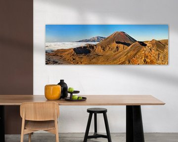 Mount Ngauruhoe, Tongariro National Park, Nieuw-Zeeland van Markus Lange
