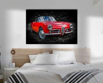 ",,Alfa Romeo Giulia Spider"" van Ronnie Reul"