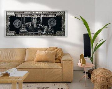 Tony Montana von Rene Ladenius Digital Art