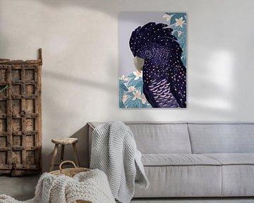 Schwarzer Kakadu von Goed Blauw