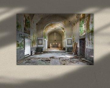 Kapelle im Verfall von Perry Wiertz