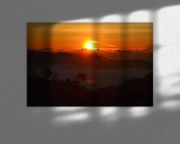 zonsopkomst Horton Plains Sri Lanka van My Footprints