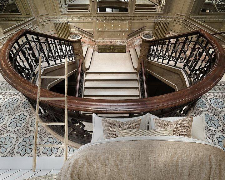 Beispiel fototapete: Neoklassizistische Treppe von Kristof Ven