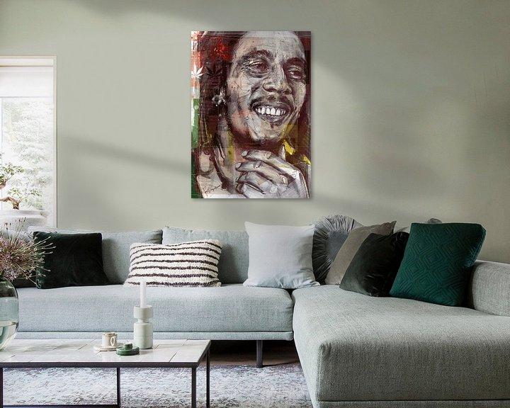 Beispiel: Abbildung von Bob Marley von Jos Hoppenbrouwers