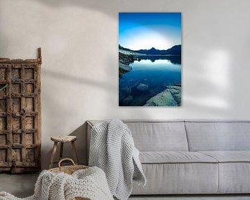 Lac de Roselend 1 van Deshamer