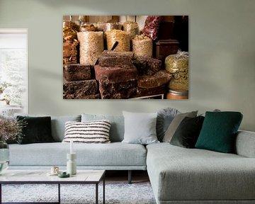kräuter auf dem markt von dubai von Karijn | Fine art Natuur en Reis Fotografie