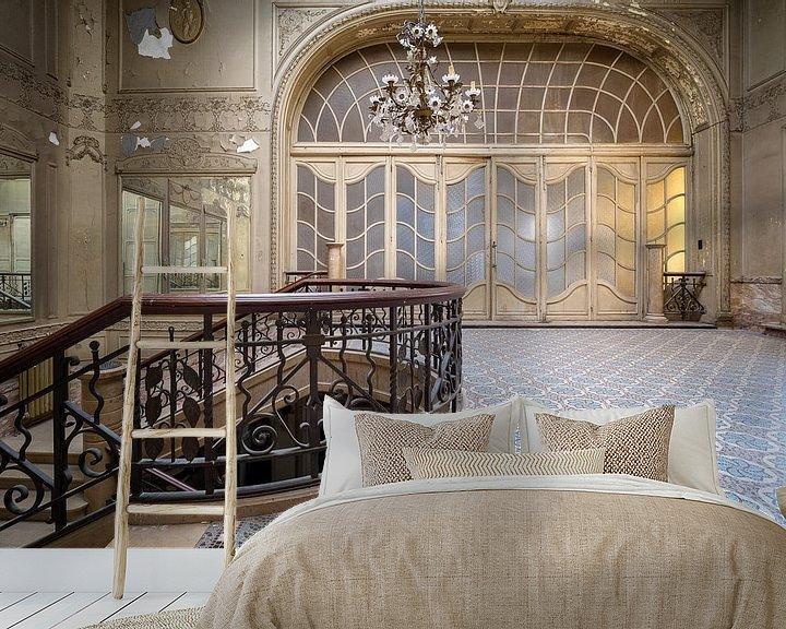 Beispiel fototapete: Treppe in einem verlassenen Theater von Kristof Ven