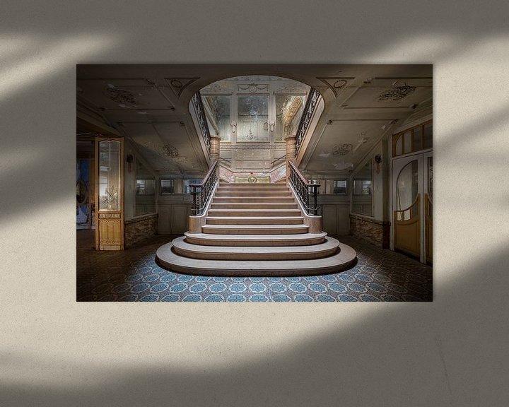 Beispiel: schöne verlassene Treppe von Kristof Ven