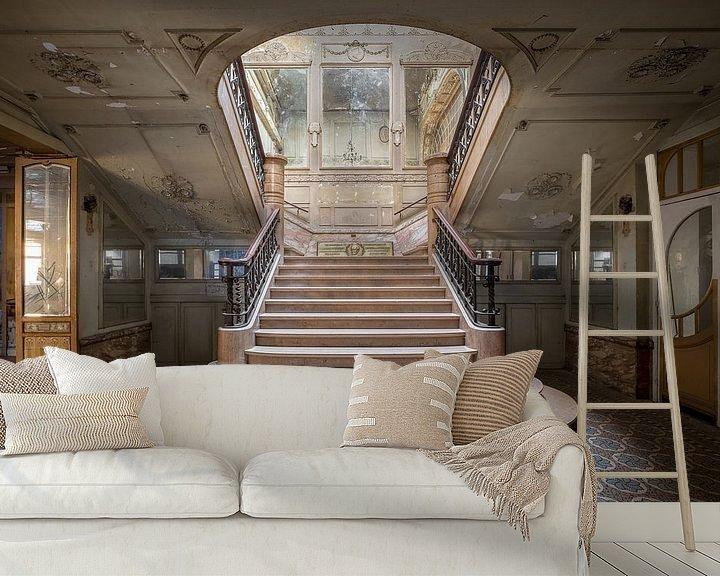 Beispiel fototapete: schöne verlassene Treppe von Kristof Ven