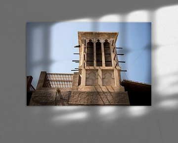 windmühle in dubai, architektur von Karijn | Fine art Natuur en Reis Fotografie