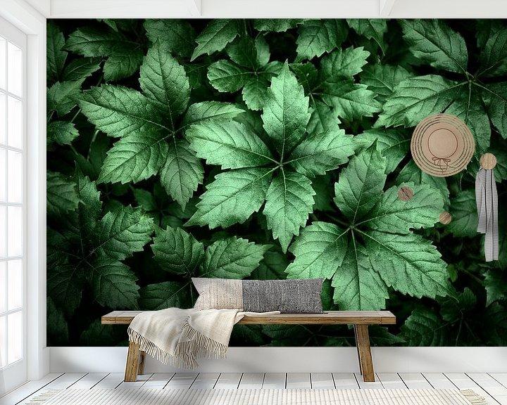 Beispiel fototapete: Hübsche Blätter von Halma Fotografie