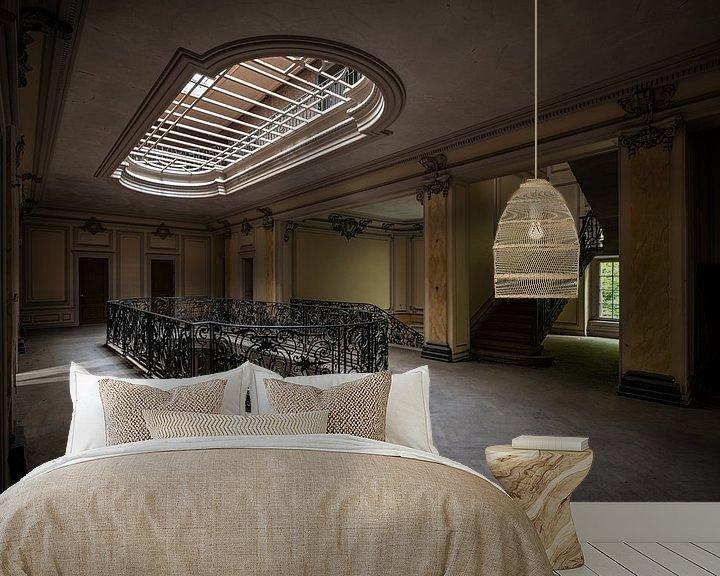 Beispiel fototapete: Verlassenes Chateau von Maikel Brands
