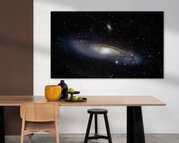 Messier 31 - Andromeda van Rob Smit