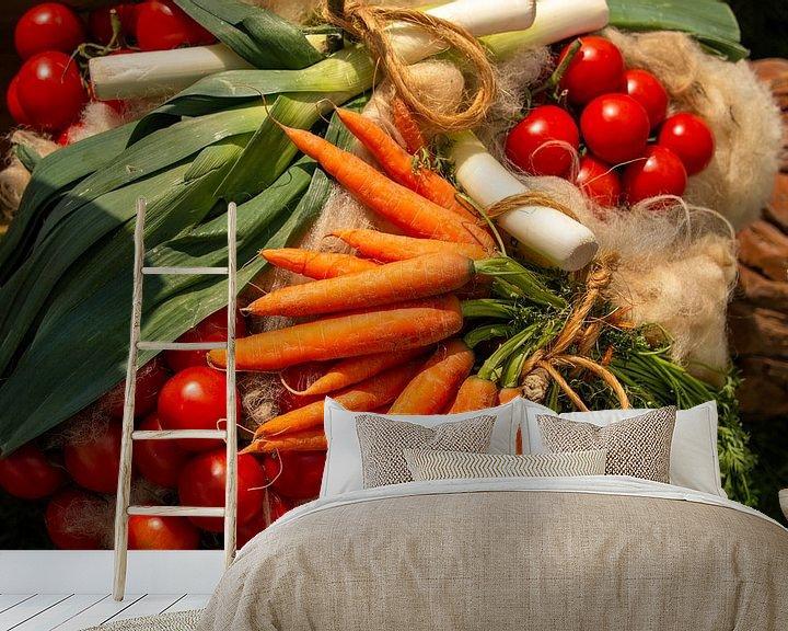 Sfeerimpressie behang: Hollandse groenten van Rianne Fotografeert