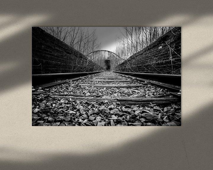 Beispiel: Eisenbahn nach unbekannt von Mark Dankers