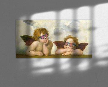 Engelen met zonnebril - Rafael