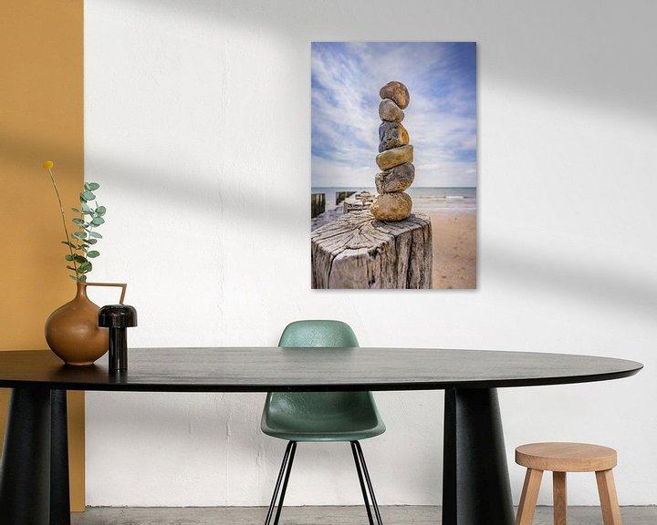 Sfeerimpressie: De stenen toren. van Jolanda Bosselaar
