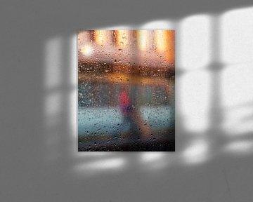 werken in de regen van Ubo Pakes