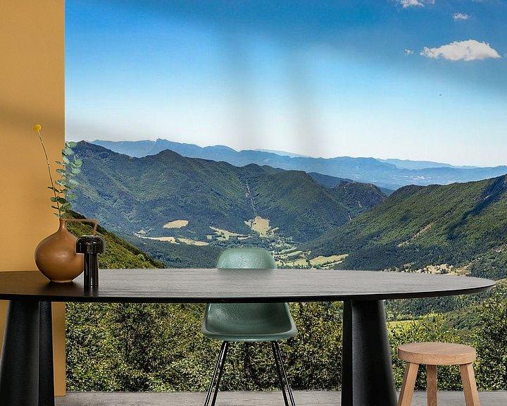 Sfeerimpressie behang: Frans landschap - Combe Laval van Rianne Fotografeert