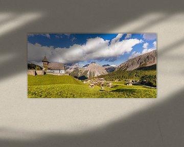 Arosa in der Schweiz von Werner Dieterich
