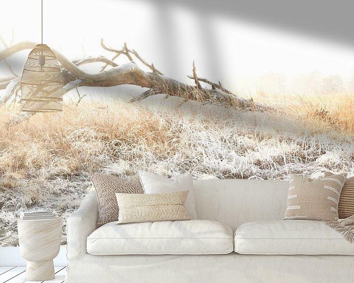 Sfeerimpressie behang: Winter in de Loonse en Drunense duinen! van Diana van Geel