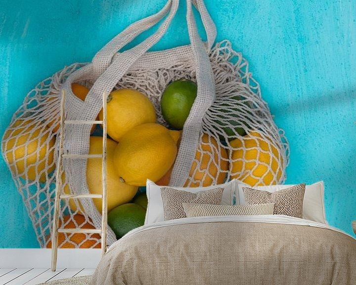 Sfeerimpressie behang: Citrus fruit van zippora wiese