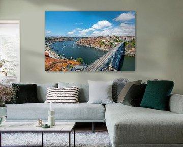 Porto Luis I-brug overzicht
