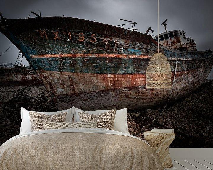 Beispiel fototapete: Schiffbruch von Jeroen Mikkers