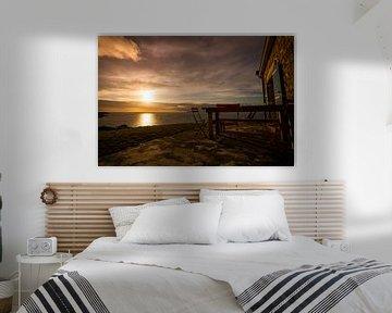 Zonsondergang Bretagne. van Jeroen Mikkers