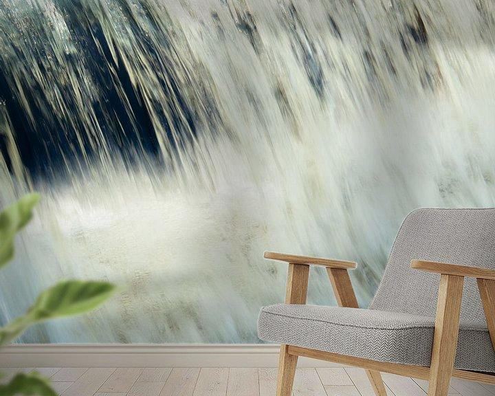 Sfeerimpressie behang: Waterval snel van Martijn Tilroe