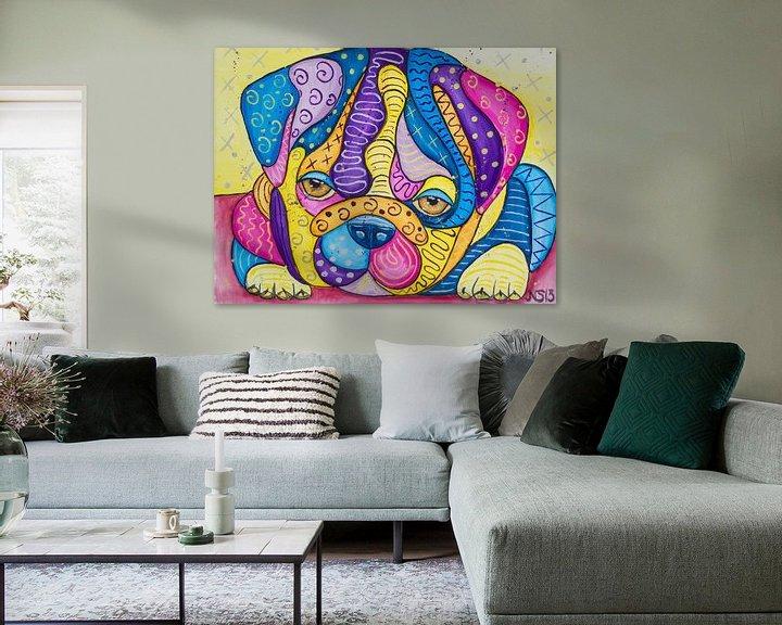 Sfeerimpressie: Sweet Bulldog Puppy van Nathalie Snoeijen-van Eck