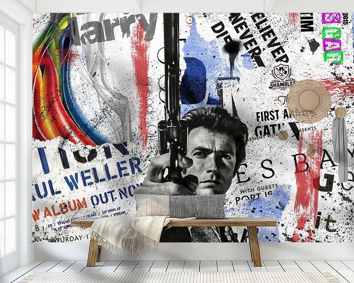 Beispiel fototapete: Dirty Harry von Rene Ladenius Digital Art
