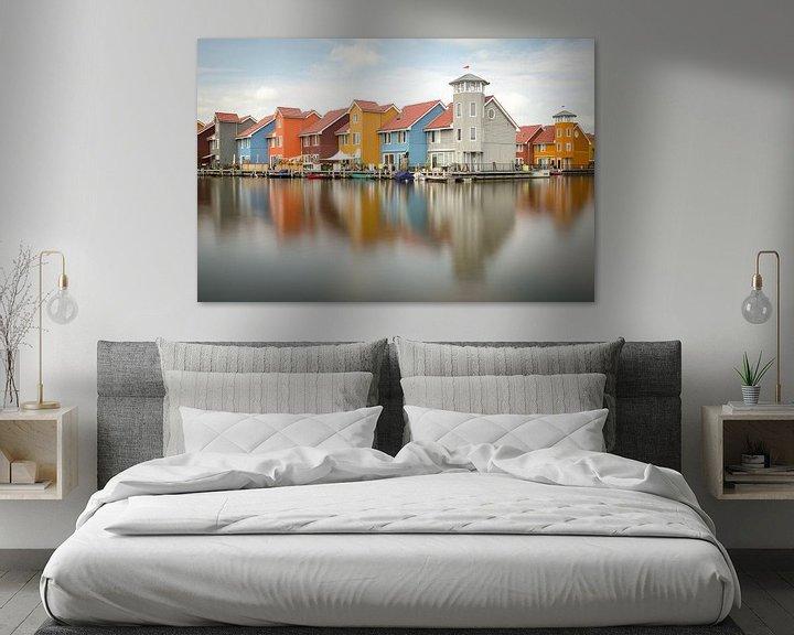 Sfeerimpressie: Reitdiephaven Groningen van Mark Bolijn