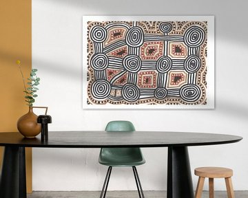 Aborigine Metropole von Julien Willems Ettori