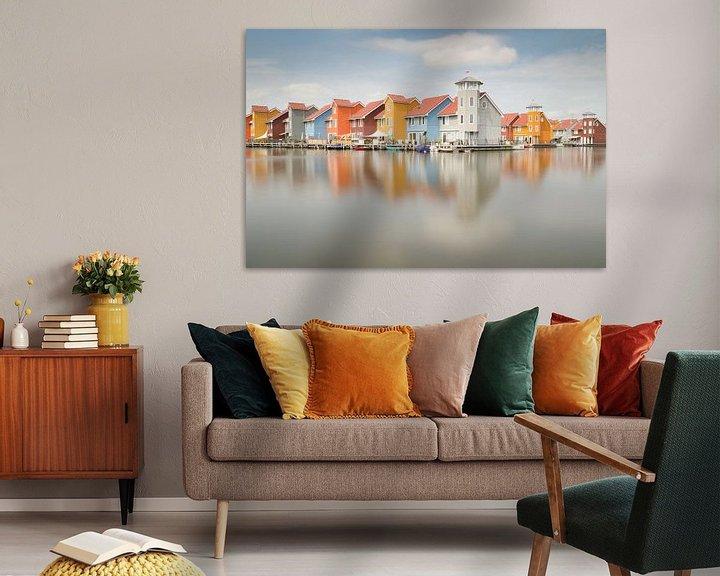 Sfeerimpressie: Reitdiep Groningen van Mark Bolijn