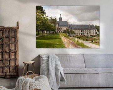 Abtei Jardins de Valloires I Botanischer Garten I Picardie, Frankreich I Farbdruck von Floris Trapman